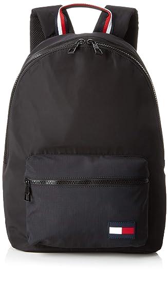 a7cec058af4 Tommy Hilfiger Backpack Sports Tape, Men's Backpack, Black, 15x43x30 cm (B  x H T): Amazon.co.uk: Shoes & Bags