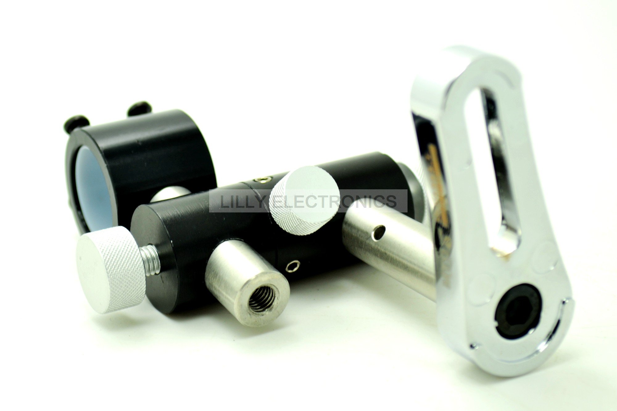 Three-axis Adjustable Holder/Clamp/Mount 21.5mm Diameter for Laser Diode Module or Torch Cooling Heatsink by Blaser