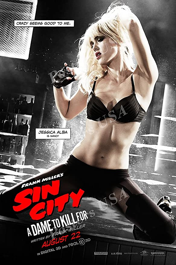 MOV140 Posters USA Sin City A Dame To Kill For Movie Poster Glossy Finish