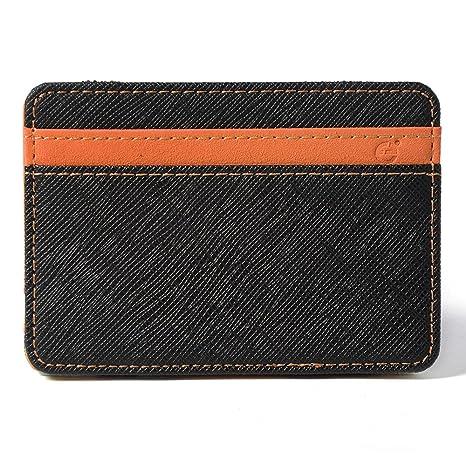 XCSOURCE Portafoglio Magico in Simili Cuoio - Magic Wallet Credit Card  Holder - Porta Moneta - 4435fe662730