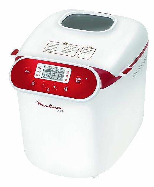 Moulinex OW3101 Uno - Máquina para hacer pan: Amazon.es: Hogar