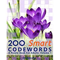 200 Smart Codewords: A Puzzle Book For Adults: Volume 1