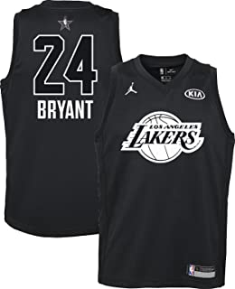 6b38cb70c10 NIKE Jordan Youth 2018 NBA All-Star Game Kobe Bryant Black Dri-FIT Swingman
