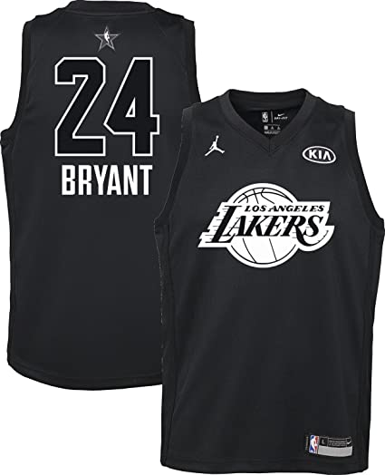 Nike Jordan Youth 2018 NBA All-Star Game Kobe Bryant Black Dri-FIT Swingman d8588e9f3