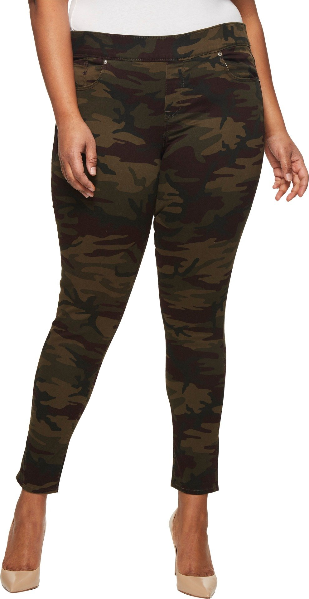 Levi's Women's Plus Size Perfectly Slimming Pull-on Skinny Jeans, Dark Camo, 36 (US 16) R