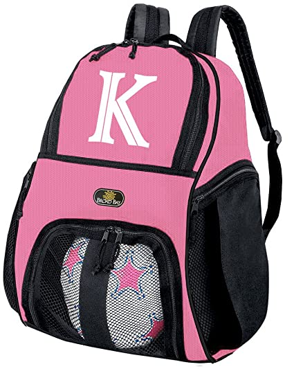 647afc2c40d8 Image Unavailable. Image not available for. Color  Broad Bay Personalized  Soccer Backpack Customized Girls ...