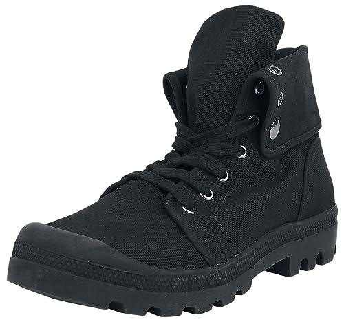 Brandit Bota Alta Militar Tela Botas negro/negro nv6DYB5ip