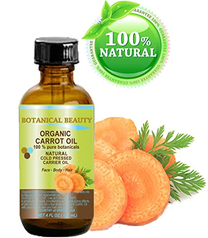 Zanahoria Aceite Orgánico 100% natural/Pure Botanicals Carrier/prensado en frío aceite 4