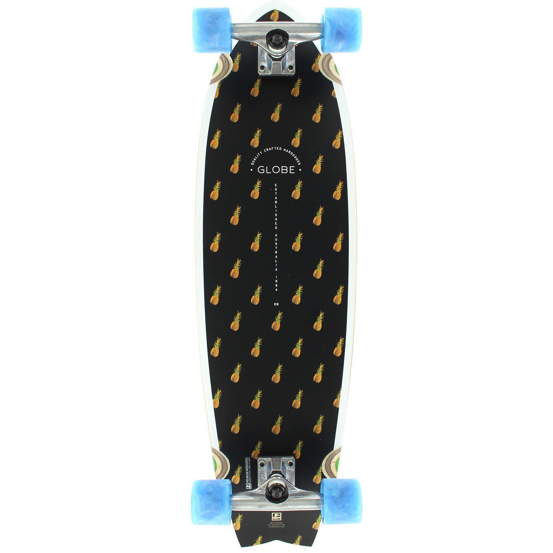 Globe Chromantic Black Pineapple Bamboo Complete Skateboard – 9.7 x 33