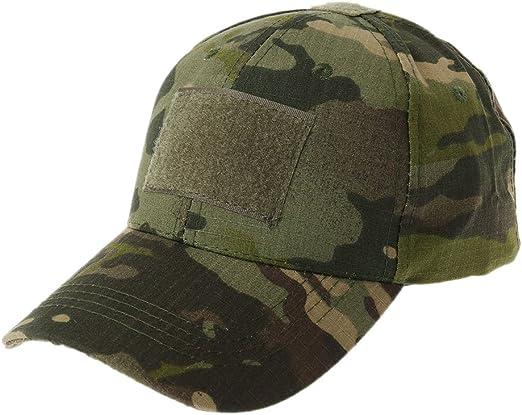 JERKKY Gorra Militar de Camuflaje del ejército Sombrero de béisbol ...