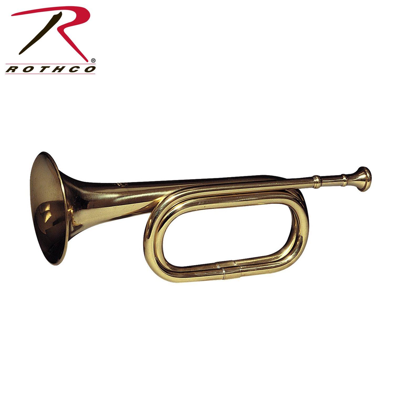 Rothco Brass Cavalry Bugle by Rothco