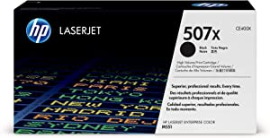 HP 507X | CE400X | Toner Cartridge | Black | High Yield