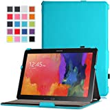 MoKo Samsung Galaxy Note PRO & Tab PRO 12.2 Case - Slim-Fit Multi-angle Folio Cover Case for Galaxy NotePRO & TabPRO 12.2 Android Tablet, Light BLUE (With Smart Cover Auto Wake / Sleep)