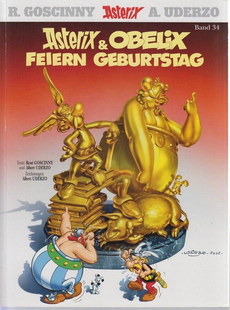 Asterix 34: Asterix und Obelix feiern Geburtstag KT