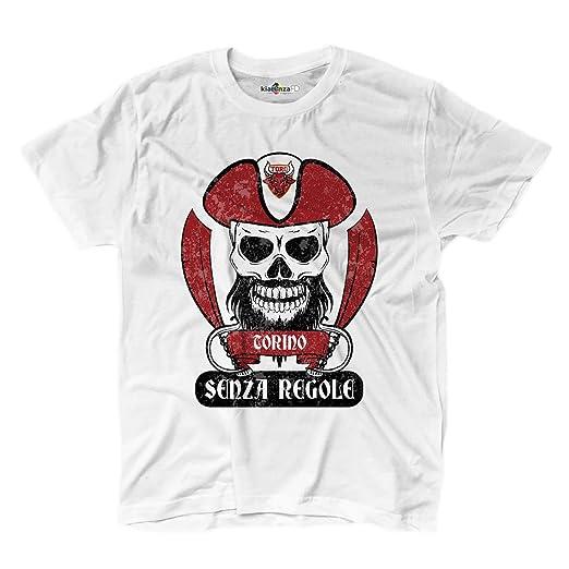 KiarenzaFD Camiseta Camiseta Hombre fútbol Pirata Torino Ultras Granada Fans Sport sin Rego: Amazon.es: Deportes y aire libre