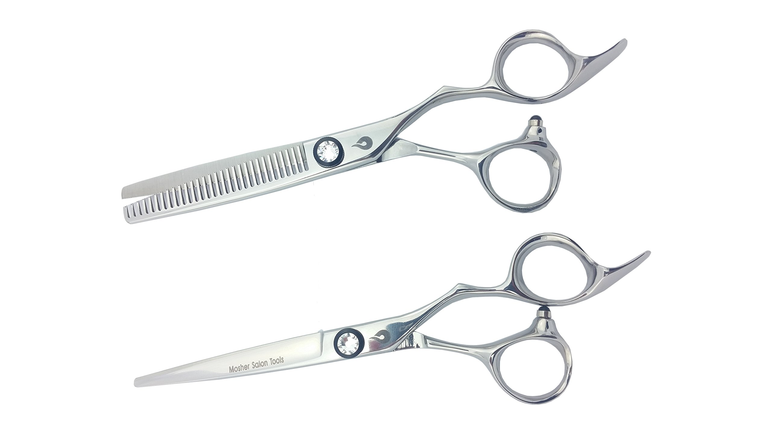 Mosher Salon Tools Professional Diamond Series High End Japanese Steel Handmade Hair Cutting Scissors/Shears by Mosher Salon Tools