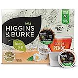 Higgins & Burke Orange Pekoe Tea Real Cup Capsule, Compatible with Keurig K-Cup Brewers, 24-Count