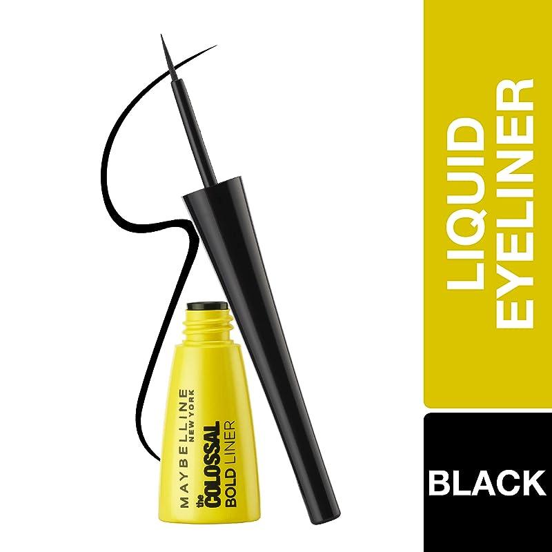 Maybelline New York Colossal Bold Eyeliner, Black, 3g