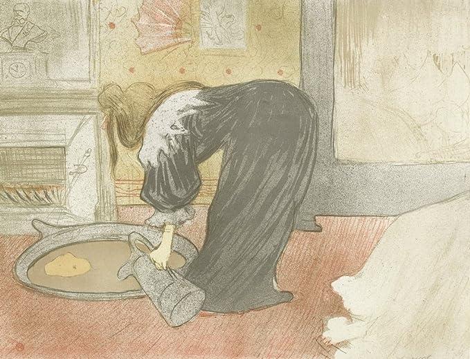 Au Café La Mie Berkin Arts Henri de Toulouse Lautrec Giclée Papier dart Impression Ouvrages dart ...