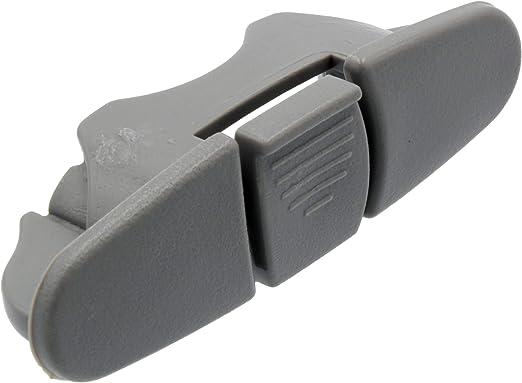 Supplying Demand W10082861 Dishwasher Upper Dishrack Grey Stop For PS11748191 8270106