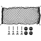 ValueHall Cargo Net 110 x 50cm Adjustable Elastic Trunk Net Cargo Trunk Storage Organizer Nylon Mesh Universal Rear…