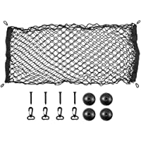ValueHall Cargo Net 110 x 50cm Adjustable Elastic Trunk Net Cargo Trunk Storage Organizer Nylon Mesh Universal Rear…