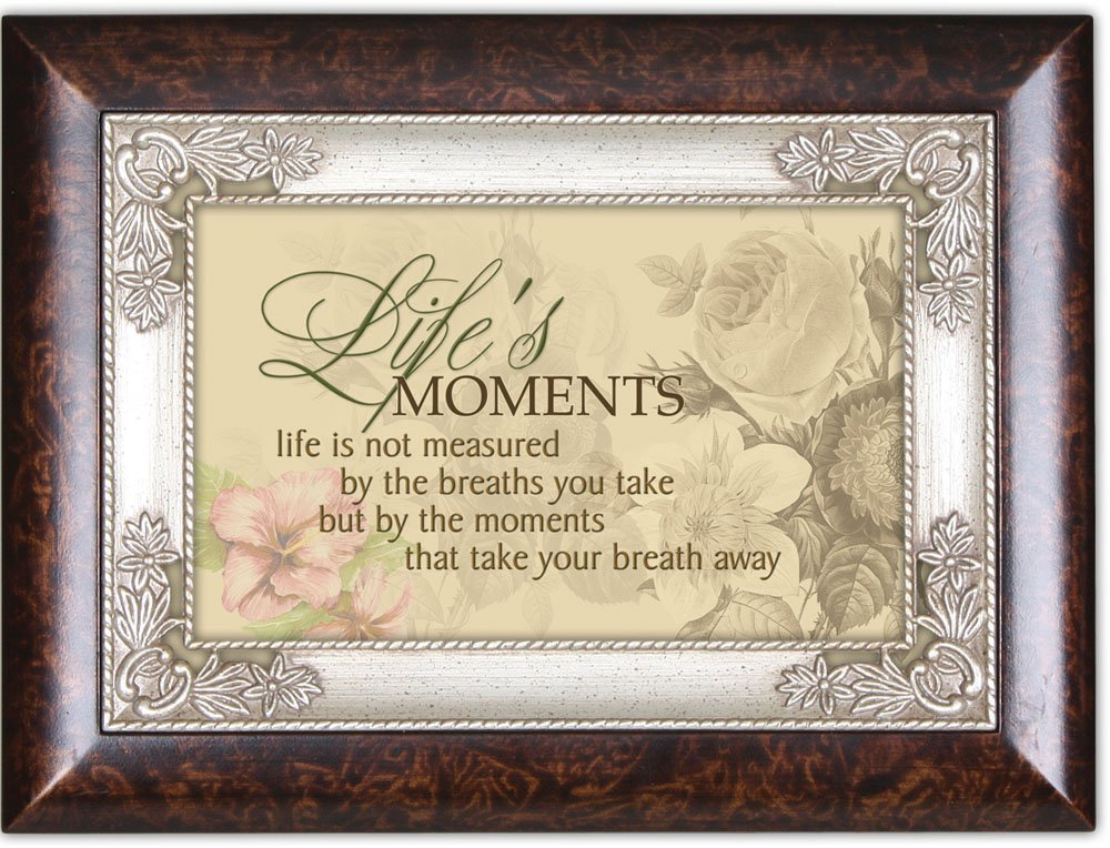 Cottage Garden Lifes Moments Burlwood Italian Inspired Traditional Music Box Plays You Light Up My Life IMB70