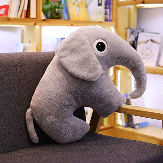 SXPC Creativo Elefante Animal de Peluche Software de Juguete de ...