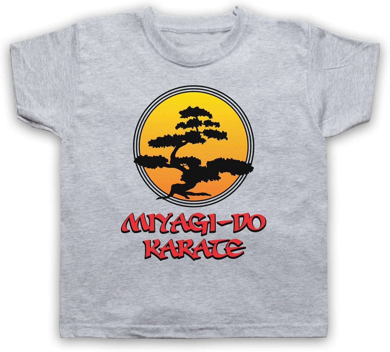 My Icon Art & Clothing Karate Miyagi Do Logo Bonsai Tree Dojo Logo Sports Film Kids T-Shirt