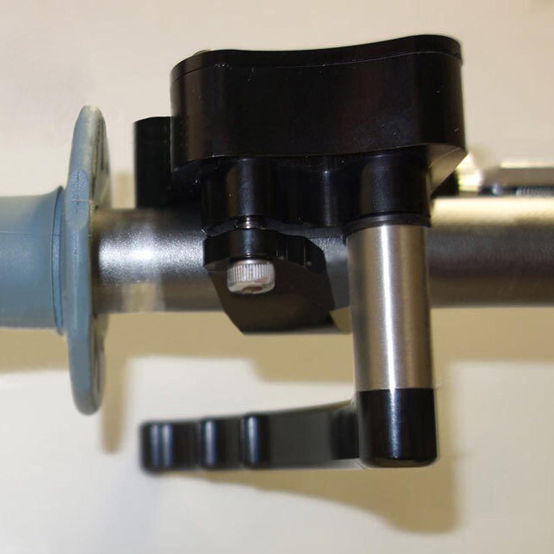 ATV Throttle Thumb Lever Control Assembly for Honda Yamaha Suzuki Kawasaki Polaris Aluminum Universal Parts