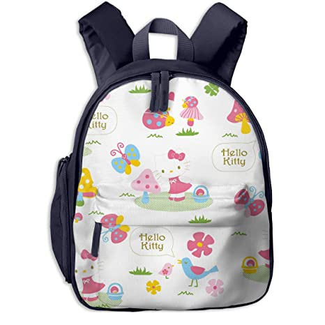 Image Unavailable. Image not available for. Color  CHLING Hello Kitty Print  School Backpacks for Girls Boys Kids Elementary School Bags ... 6200a3f71a6f7