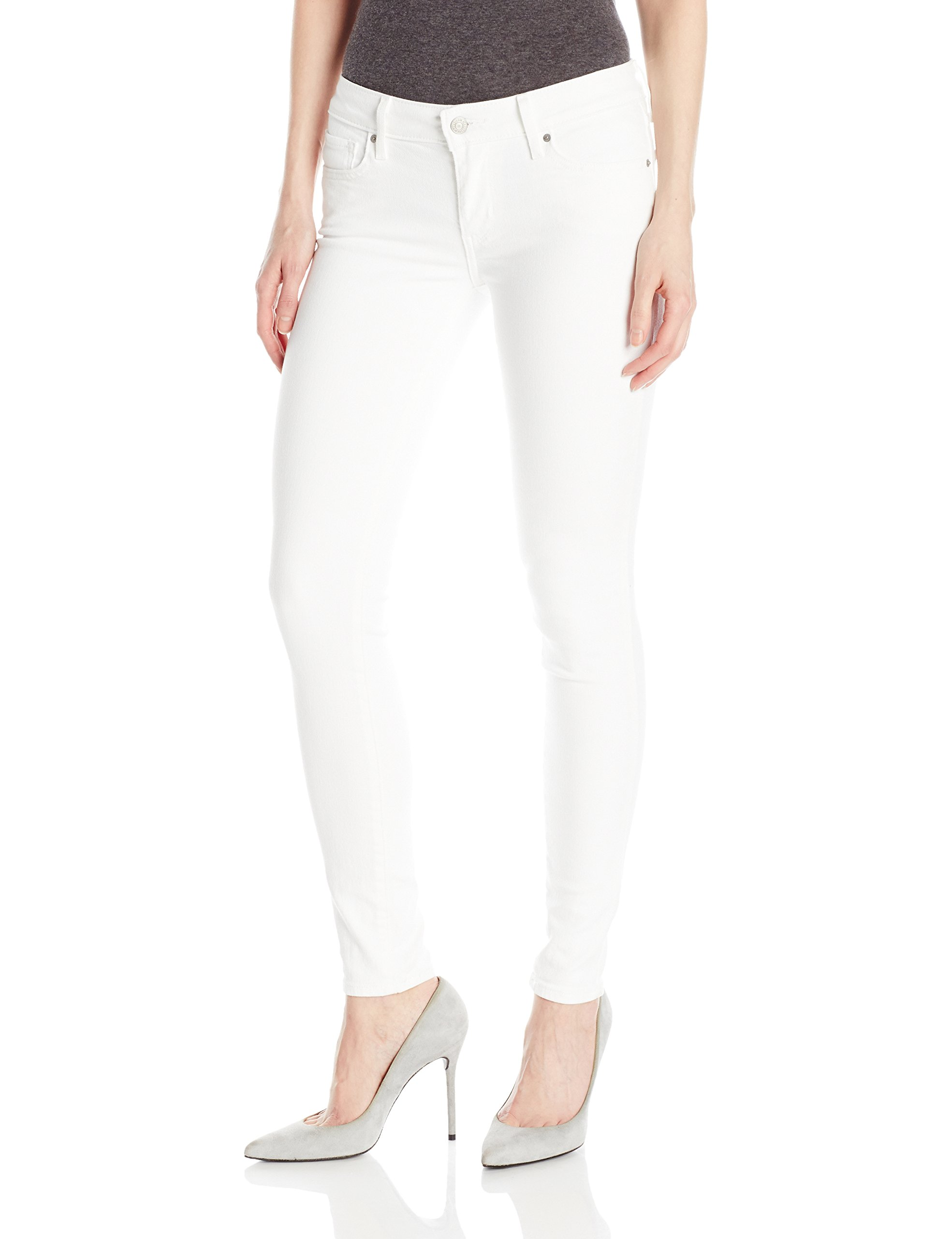 Levi's Women's 711 Skinny Jeans, Soft Clean White, 28 (US 6) R by Levi's