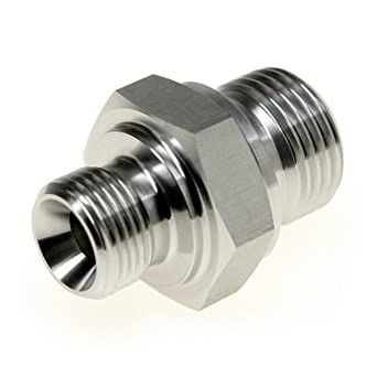 Reducing Nipple BSP Male to Male Stainless Steel 316 Reducing Adapters Hexagon