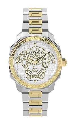 Versace Femme Analogique Quartz Suisse Montre avec Bracelet en Acier  Inoxydable VQD110015 df3fd79a692