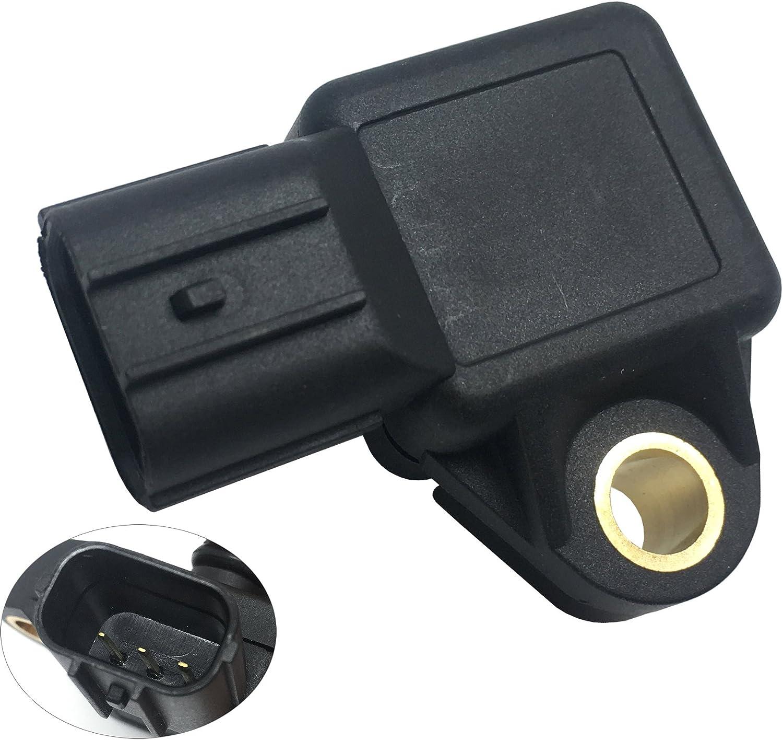 X AUTOHAUX Manifold Absolute Pressure Sensor MAP Sensor 079800-5410 37830-PGK-A01 for Honda Accord Civic Acura