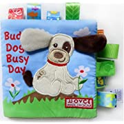 Buddy Dog Soft book with Satin Tags for Baby , Generic