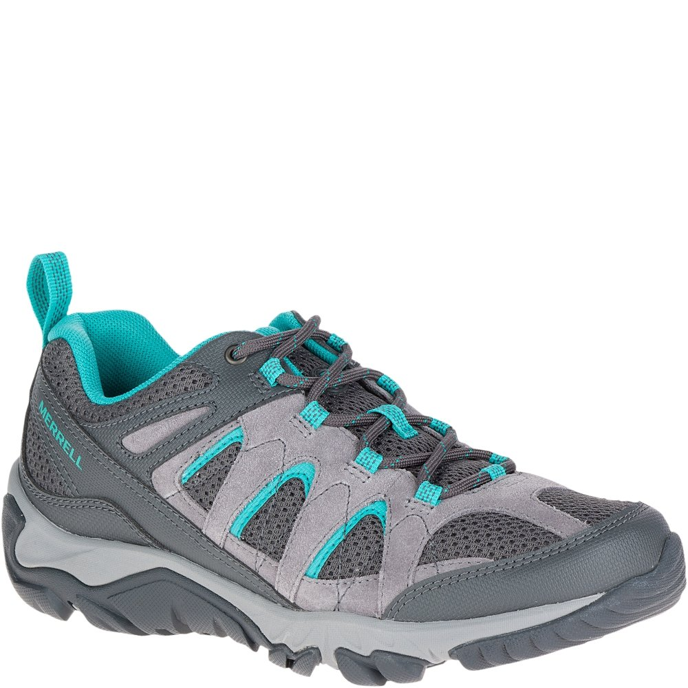 Merrell Women's Outmost Vent Hiking Shoe, Frost Grey, 5 M US