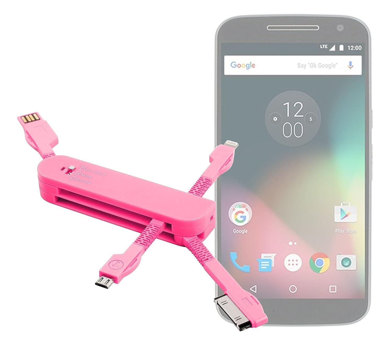 Cargador USB 3 en 1 para Lenovo moto G4/G4 Plus/G4 Play 5,5 ...