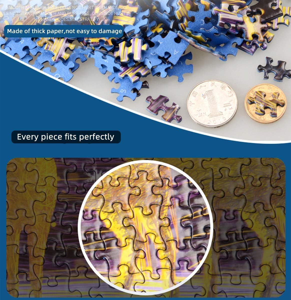 1000PC Starry Night Mini Jigsaw Puzzle Puzzles Adult Kids Assembling US