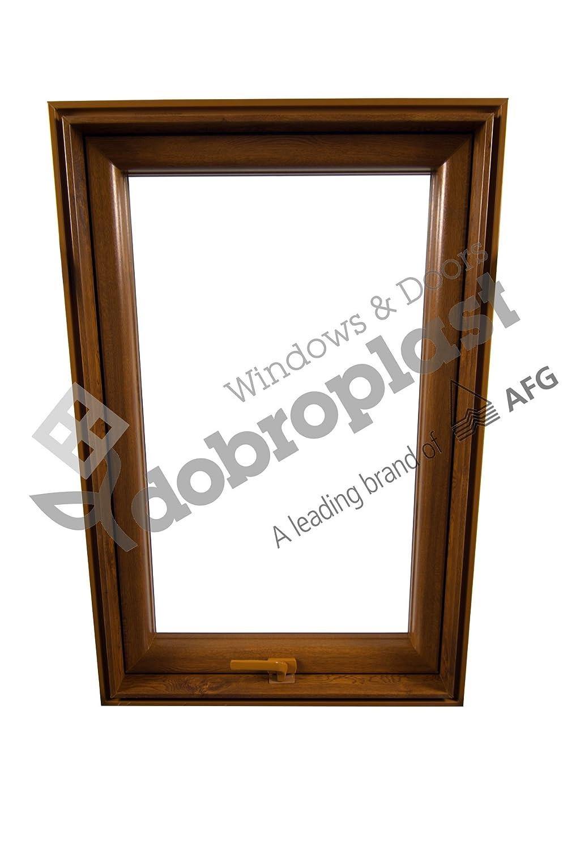AFG Skylight Premium Dachfenster PVC 78 x 118 mit Eindeckrahmen Schwingfenster