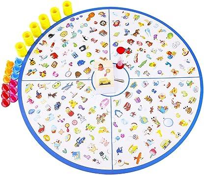 Deao Jeu De Societe De Memoire D Images Correspondantes Memory Matching Picture Pour Enfants De 60 Ans Amazon Fr Jeux Et Jouets