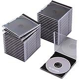 エレコム DVD CDケース プラケース 標準タイプ 1枚収納 30枚パック ブラック CCD-JSCN30BK