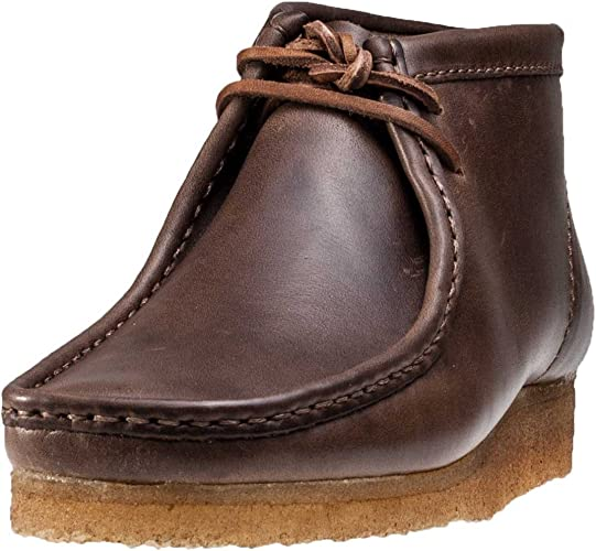 Automáticamente Usual apoyo  Clarks Originals Wallabee Boot Horween Edition Mens Wallabee: Amazon.co.uk:  Shoes & Bags
