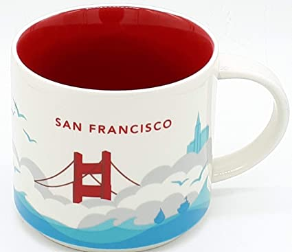 Are Here San Francisco Mug You Collection By Starbucks PiTOZuXk