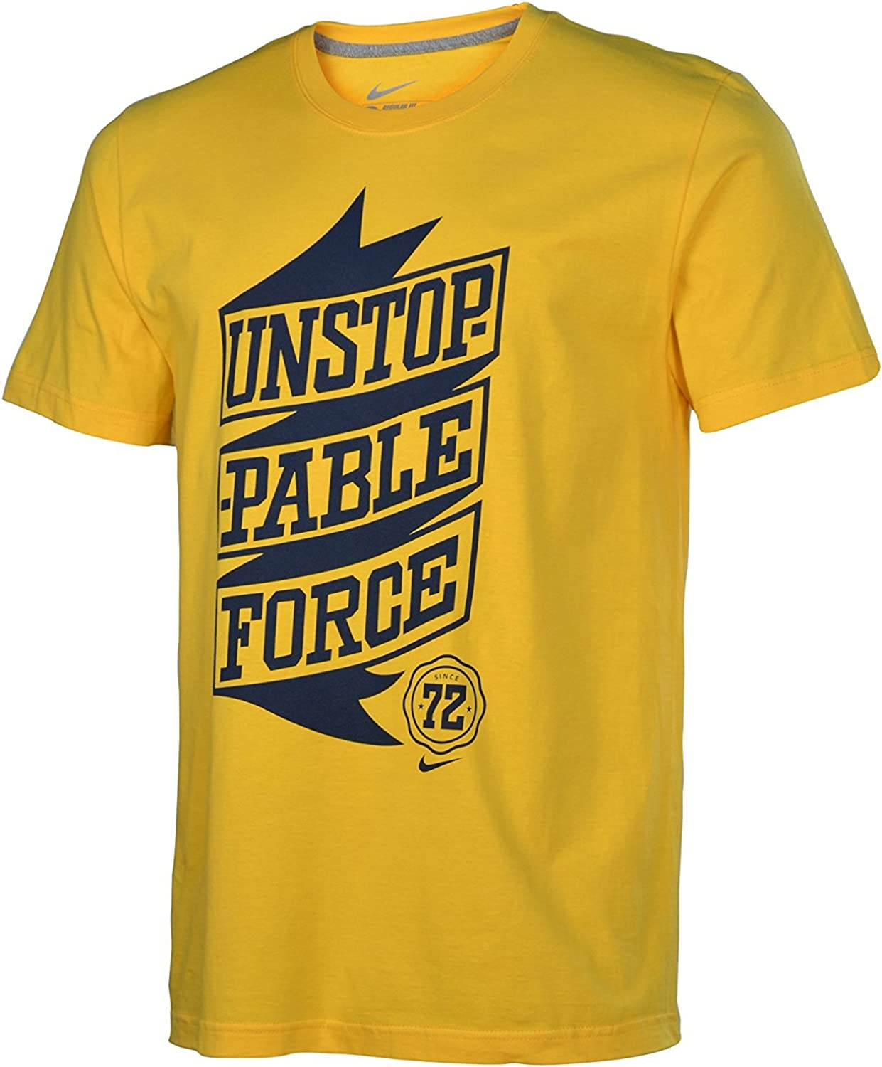 Melodrama alto semiconductor  Nike Men's Unstoppable Force 72 T-Shirt X-Large Yellow Black: Amazon.ca:  Clothing & Accessories