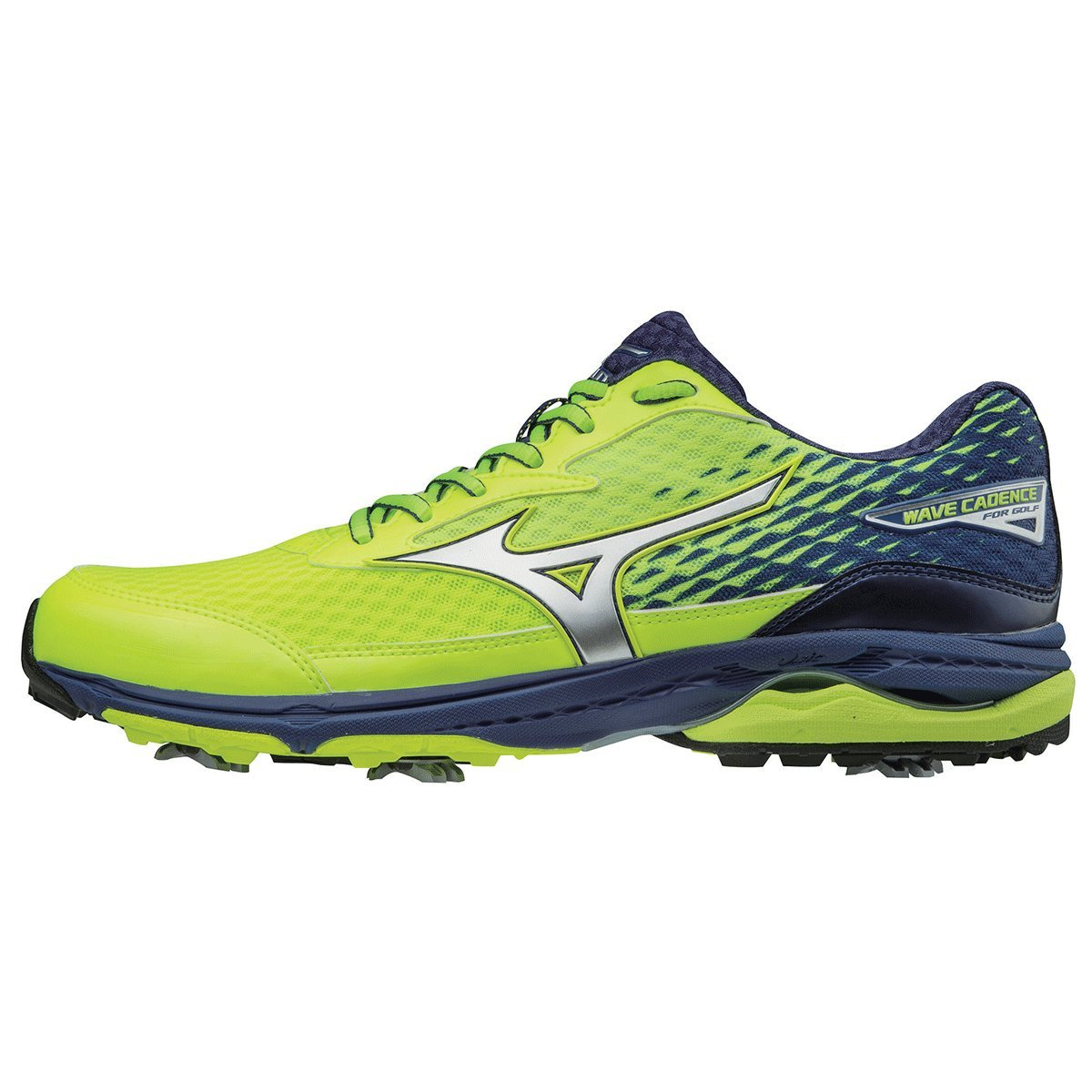 33ab29a4e9d3f Mizuno 2018 Wave Cadence Water Repellant Spiked Mens Performance Golf Shoes   Amazon.co.uk  Sports   Outdoors