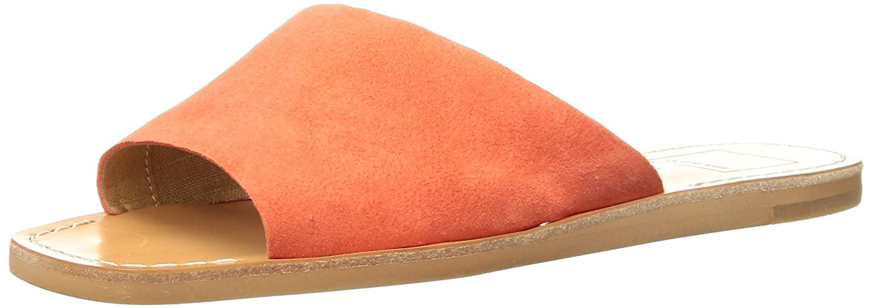 Dolce Vita Women's Cato Slide Sandal B077QKB8N3 7 B(M) US|Orange Suede