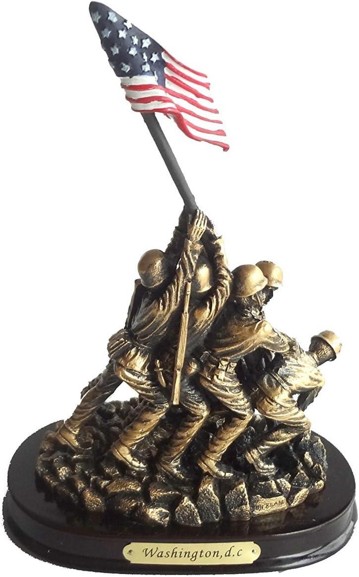 "Us Marine Corps War Memorial Figurine: The Iwo Jima Memorial (8"")"