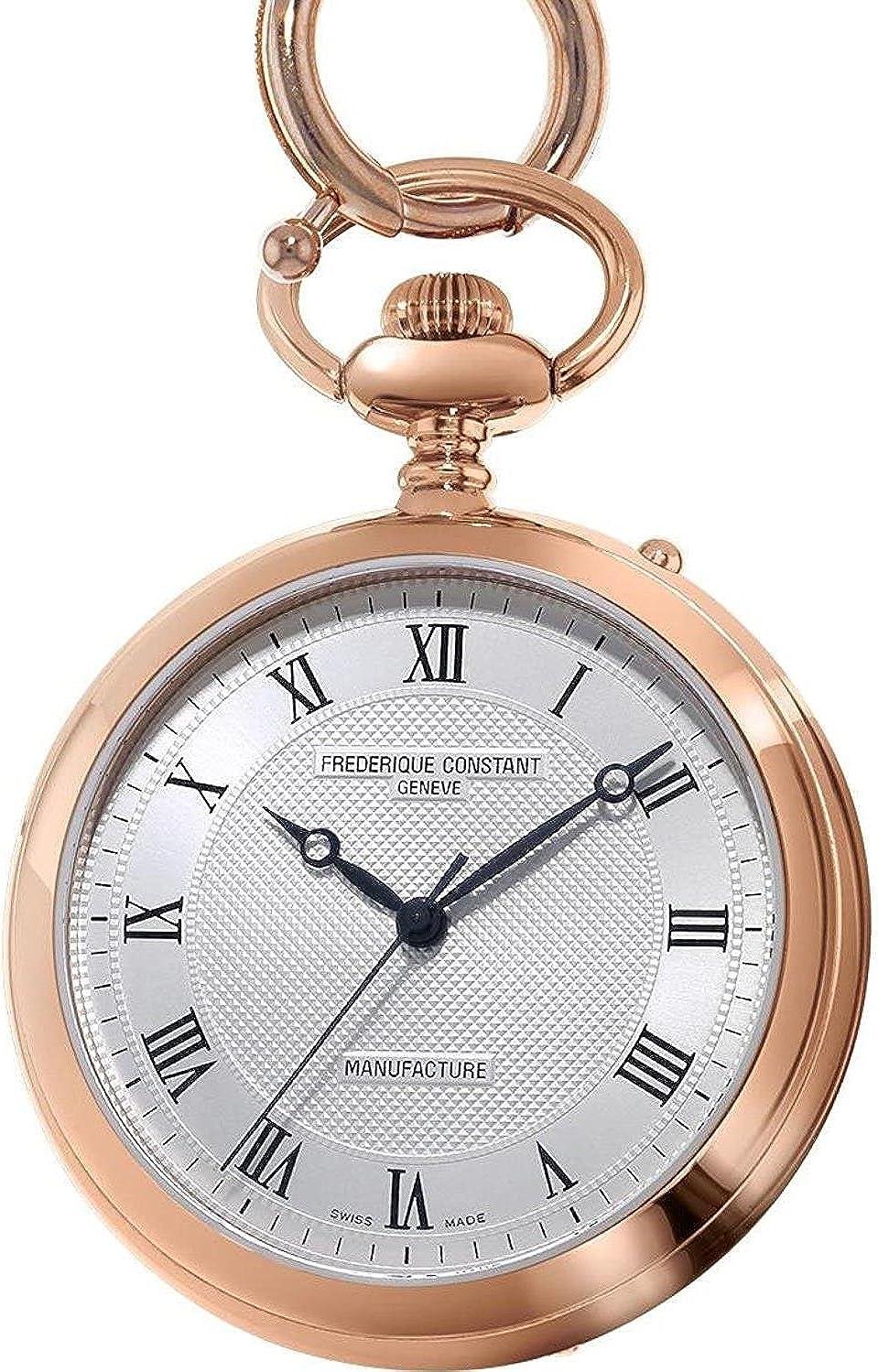 Frederique Constant Geneve Manufacture FC-700MC6PW4 Reloj de bolsillo Clásico & sencillo