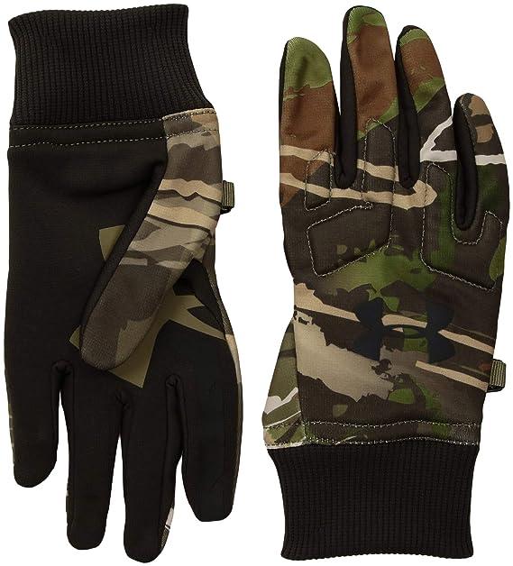 385e2d82ebe2c Amazon.com : Under Armor Boys' Scent Control Armour Fleece 2.0 Gloves :  Clothing